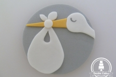 Baby Shower Cup Cake Topper