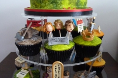 Horrible Histories Cup Cake Tower