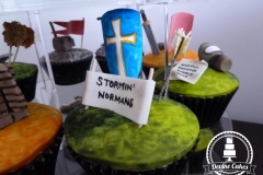 Stormin' Normans Cup Cake