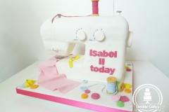 Sewing Machine Cake 2