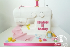 Sewing Machine Cake 3