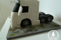 lorry cake side